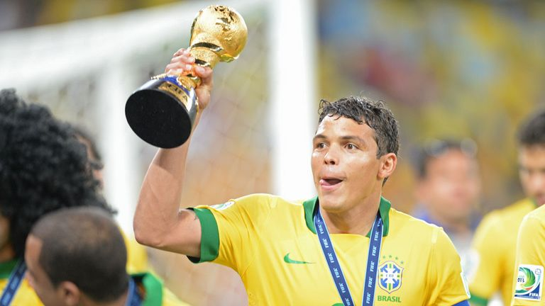 Thiago Silva: Brazil international has been linked with a move to Barcelona