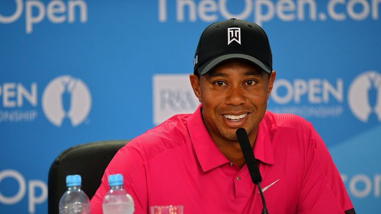 Tiger Woods: Sky Bet are taking him on