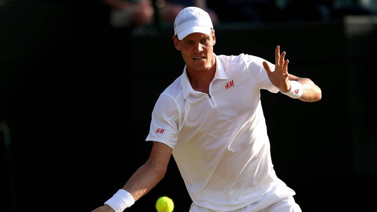 Tomas Berdych: Eased back into action after Wimbledon exploits