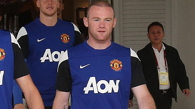 Wayne Rooney: Subject of a transfer bid from Chelsea