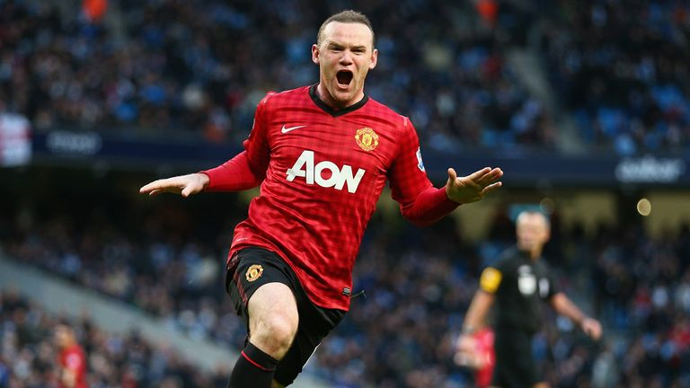 Wayne Rooney: Treatment on hamstring injury