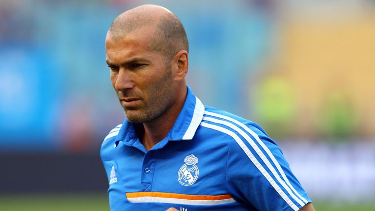 Zinedine Zidane: Wants permission to talk to Gareth Bale