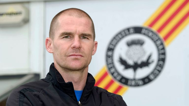 Thistle manager Alan Archibald admits it was a tense Cup tie at Partick
