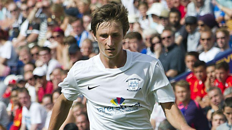 Ben Davies: On loan from Preston