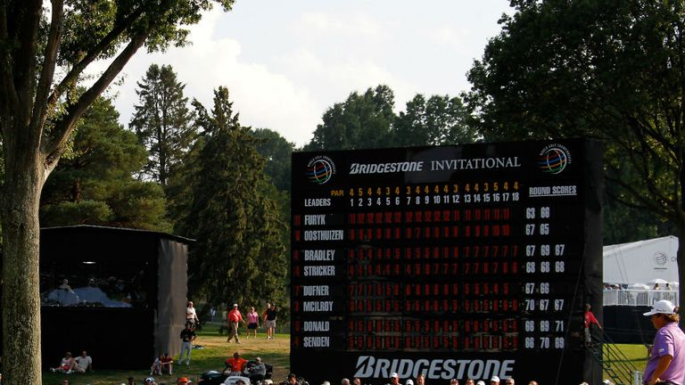 Firestone Country Club in Ohio will once again play host to the Bridgestone Invitational