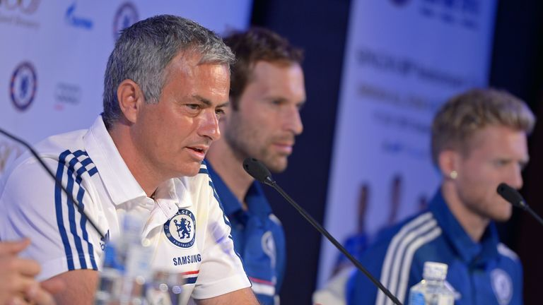 Jose Mourinho: Still sees Petr Cech as his No.1 despite arrival of Mark Schwarzer