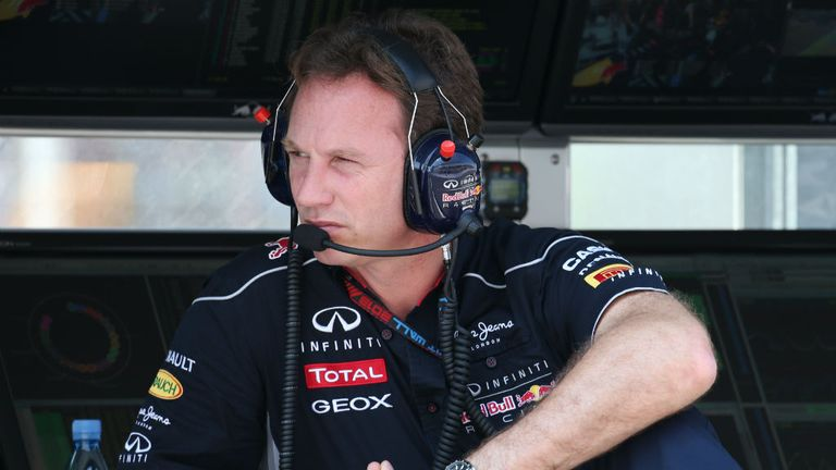 Christian Horner: Keeping his cards close to his chest