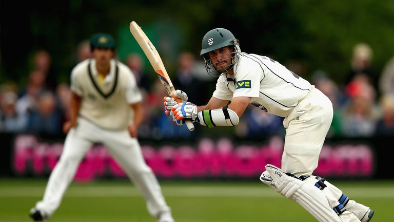 Daryl Mitchell: important runs for Worcestershire