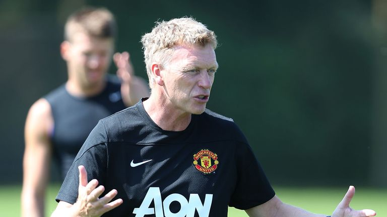 David Moyes: Manchester United boss is relaxed over transfer activity