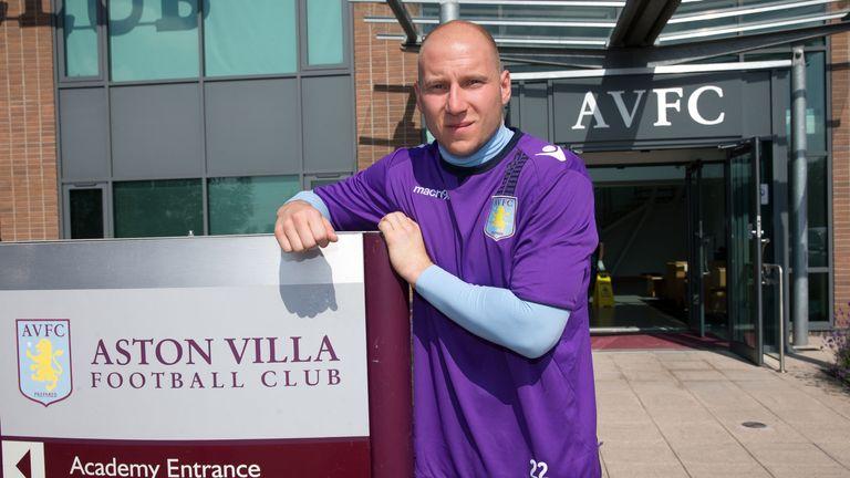 Brad Guzan: Signed his new deal at Bodymoor Heath