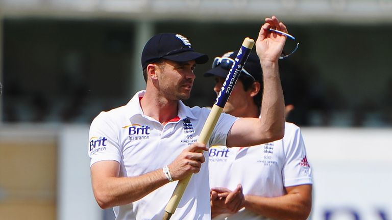 James Anderson: The Lancashire seamer finished with a 10-wicket haul at Trent Bridge