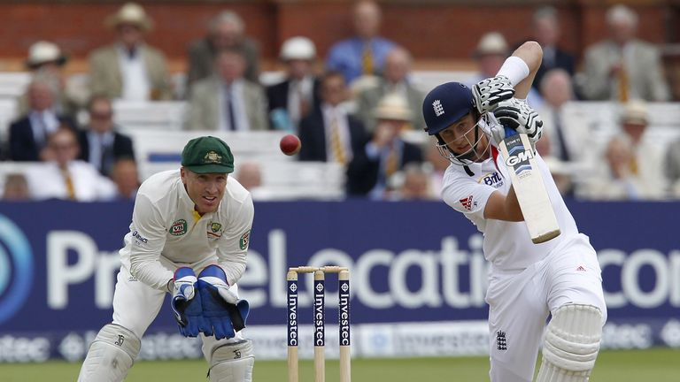 Joe Root: England opener batted throughout day three at Lord's