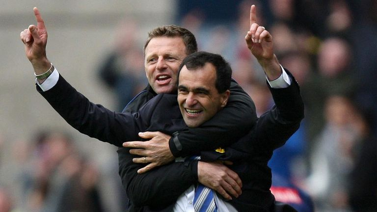 Roberto Martinez and Graeme Jones: Reprising Wigan partnership