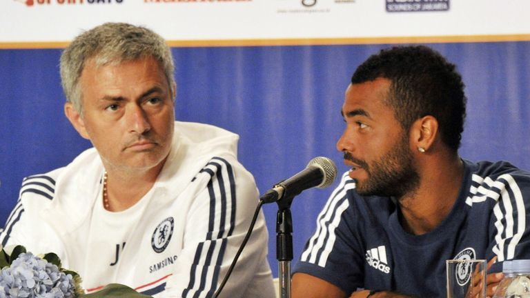 Jose Mourinho: Not trying to send Ashley Cole a message by leaving him out