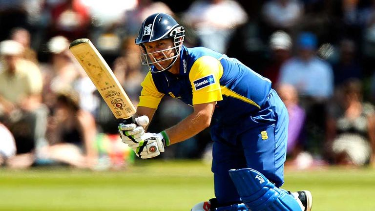Darren Maddy: played for England at inaugural World Twenty20 in 2007