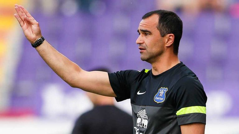 Roberto Martinez: Impressed by Everton youngsters