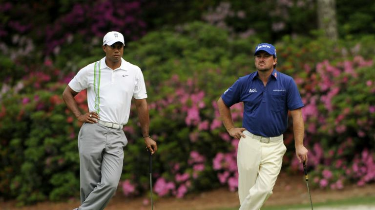 Tiger Woods and Graeme McDowell have been paired together at Muirfield