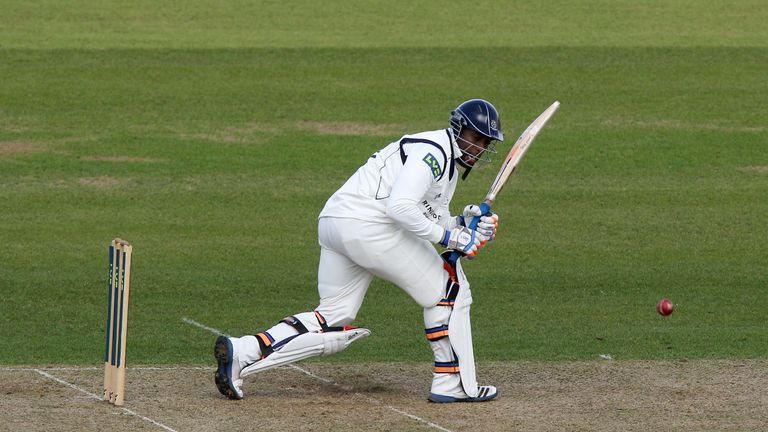 Michael Carberry: Hit his first hundred of the LV= County Championship season at Canterbury