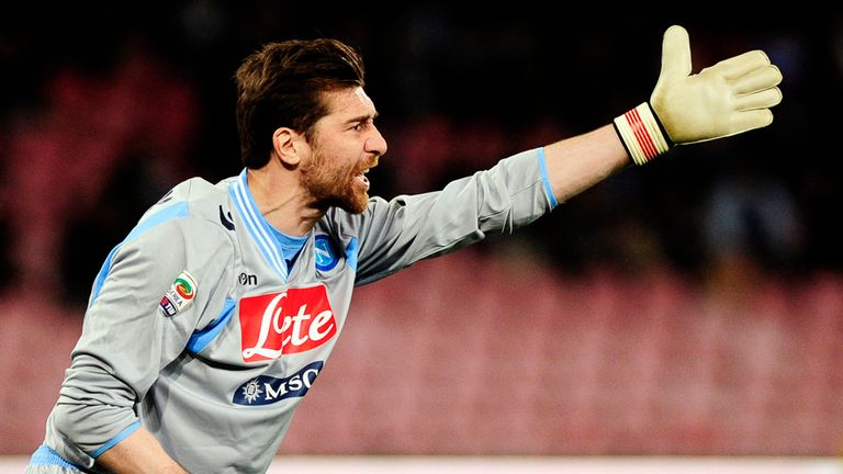 Morgan De Sanctis: Completes move from Roma to Napoli