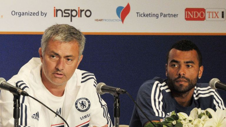 Jose Mourinho and Ashley Cole: Reunited at Chelsea