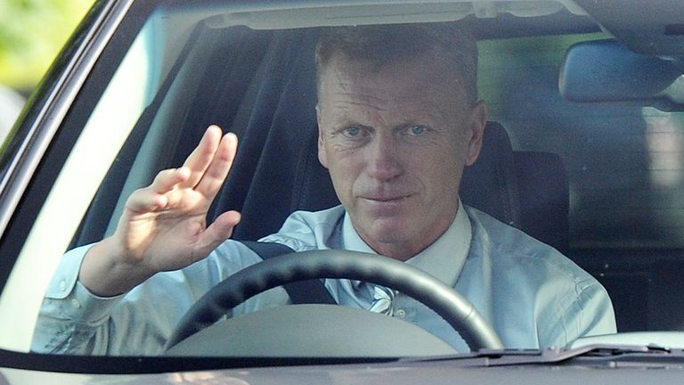 Arrival: David Moyes needs to bring a trophy to Old Trafford, says Ray Wilkins