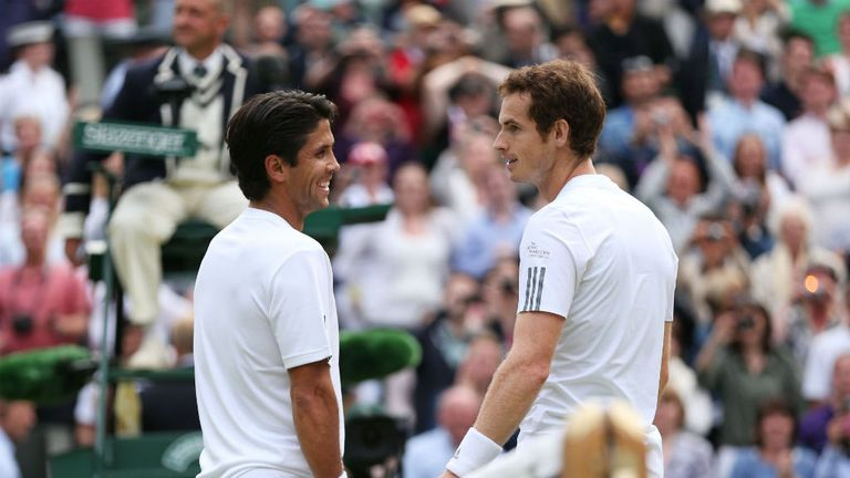 Verdasco and Murray: played out a thriller on Centre Court