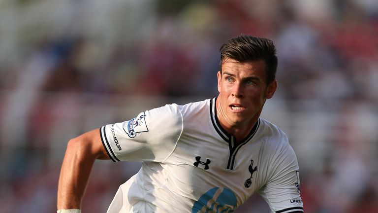 Gareth Bale: Tottenham star in action against Swindon