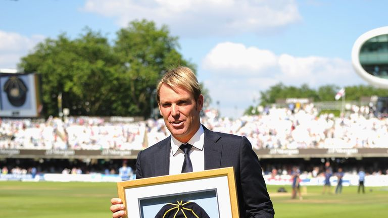 Shane Warne: Australian great inducted into the Hall of Fame at Lord's on Friday