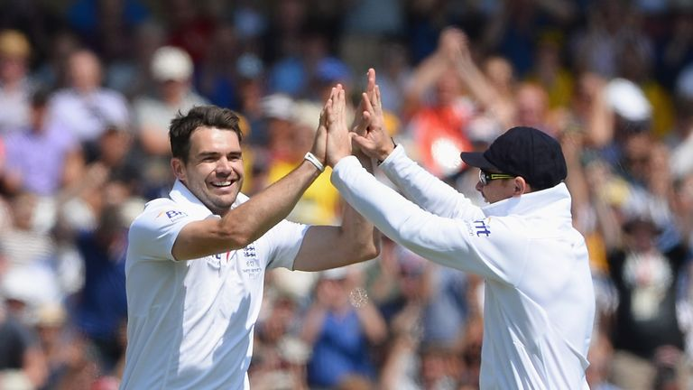 James Anderson and Ian Bell: England's key performers with ball and bat at Trent Bridge