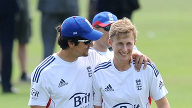 Alastair Cook and Joe Root: England's opening pair for Trent Bridge