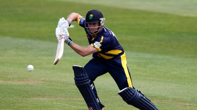 Mark Wallace: Glamorgan opener hit 69 not out to see side to target of 127