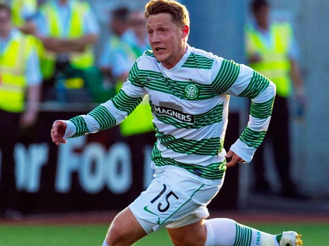 Kris Commons: Headed Celtic to a narrow victory