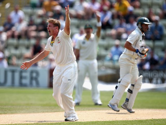 James Faulkner was among the wickets for Australia