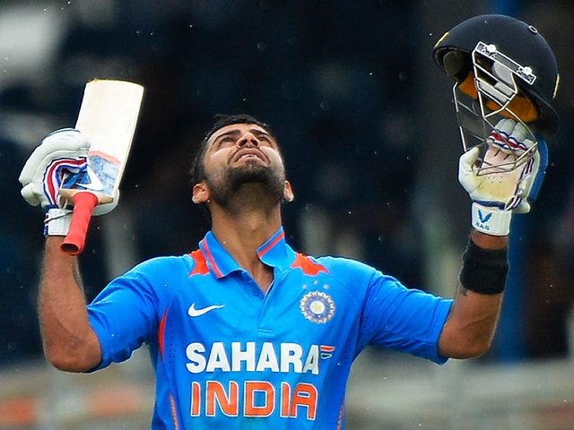Virat Kohli: Struck a superb century for India