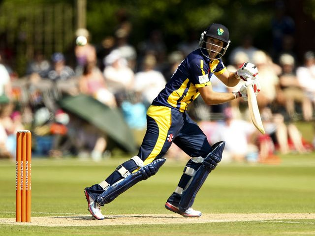 Allenby and Glamorgan were easy winners