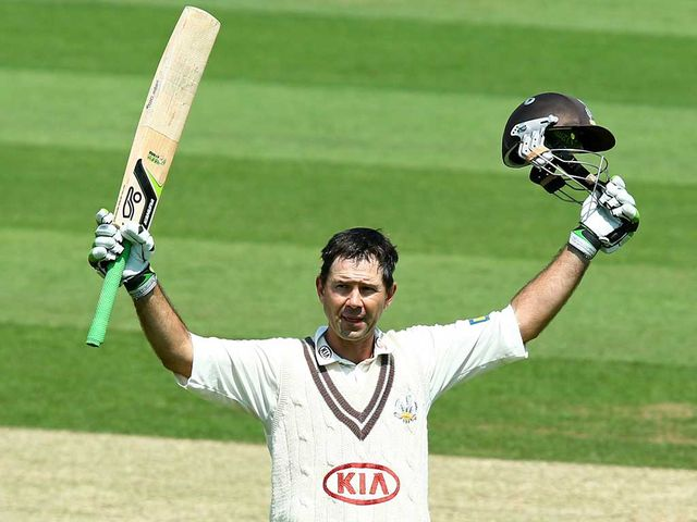 Ricky Ponting: Bowed out with an unbeaten 169