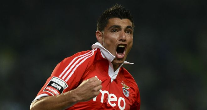 Oscar Cardozo: Snatched a late point for Benfica