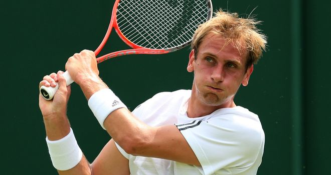Thiemo De Bakker: world No. 108 saw off Dimitry Tursunov in straight sets
