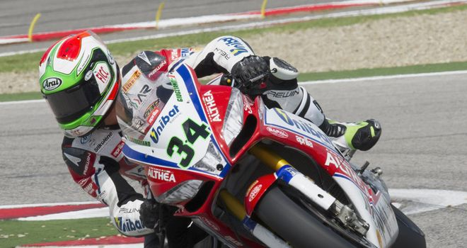 Davide Giugliano: Topped the timesheets in second practice