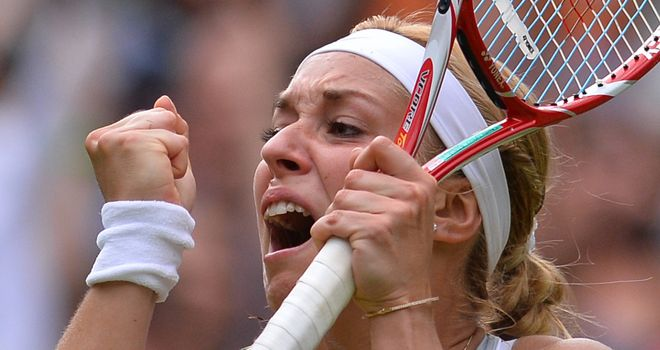 Sabine Lisicki: Wimbledon quarter-finalist for a fourth time