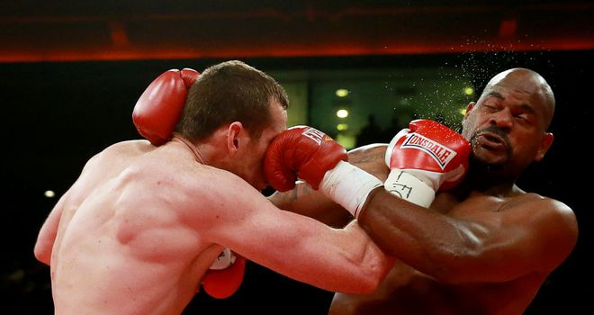 David Price: Has no plans to call it quits following a second defeat to Tony Thompson