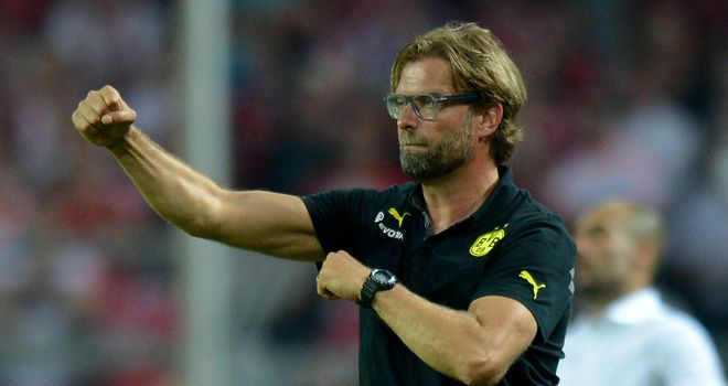 Jurgen Klopp: Delighted with Dortmund's performance