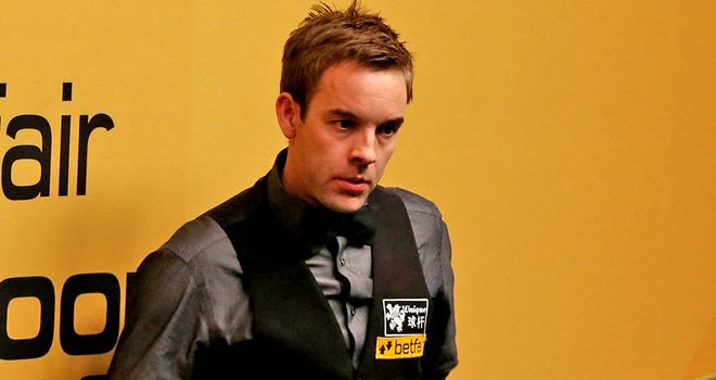 Ali Carter, pictured at the 2013 World Championship, is set to return to tournament snooker in Shanghai.