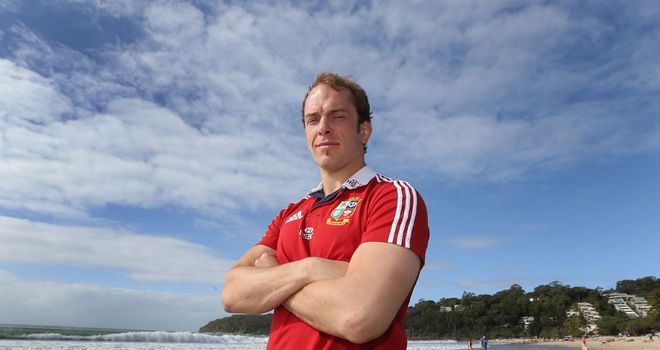 Alun-Wyn Jones: Honoured to lead the Lions