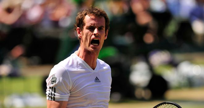 Andy Murray: added his second Grand Slam title on Centre Court