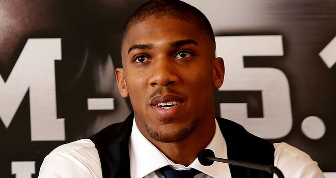 Anthony Joshua: Set to fight twice in a month