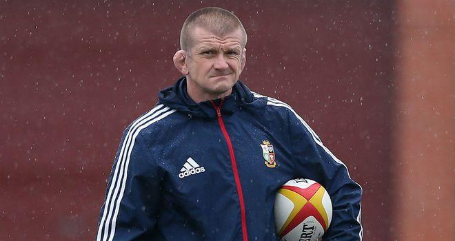 British and Irish assistant coach Graham Rowntree