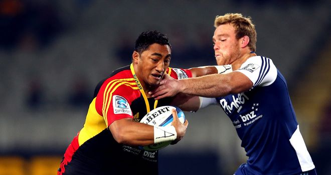 Bundee Aki: Will join Connacht at the end of the ITM Cup