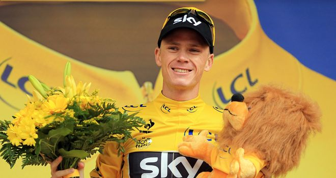 Froome: Enjoying life on the top step of the podium
