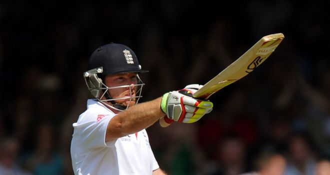 Ian Bell: Struck another century for England at Lord's